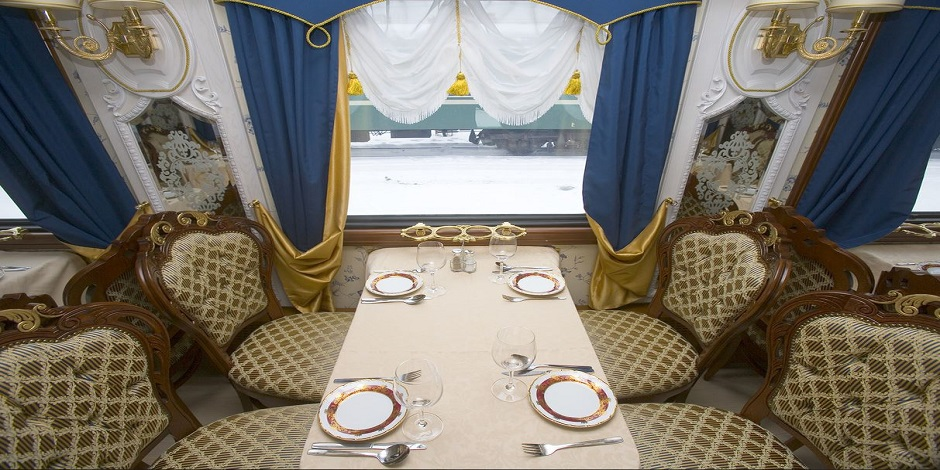 Restaurant du Train Russie Impériale