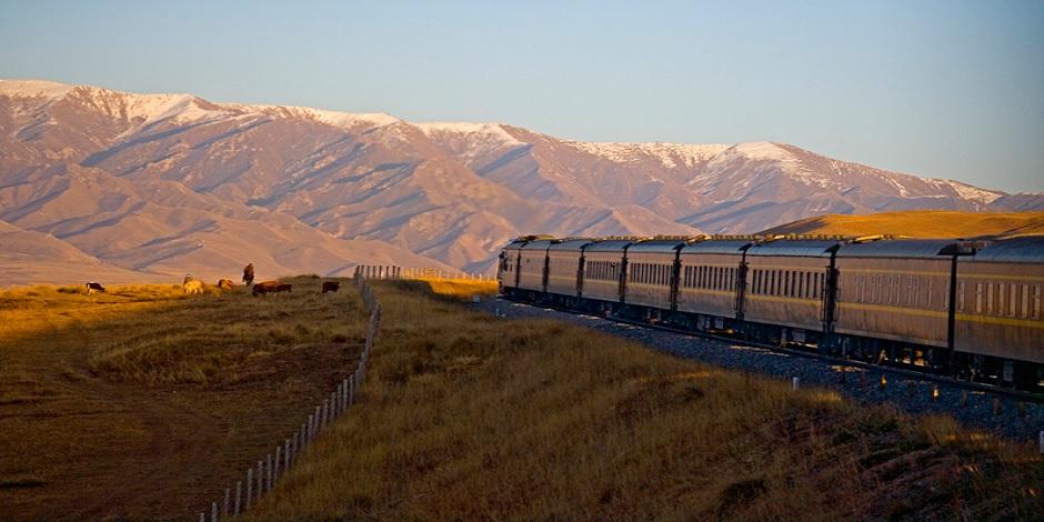 Train Shangri La sur la Route de la Soie
