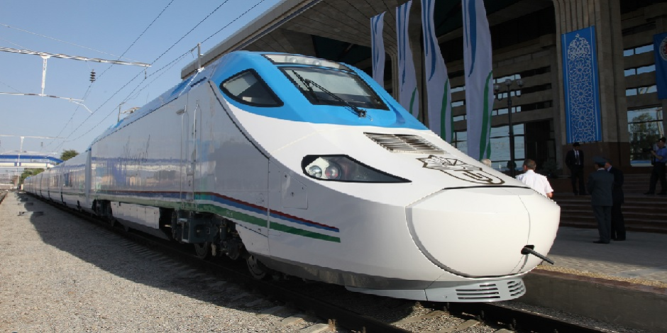 Trains Uzbekistan Railways
