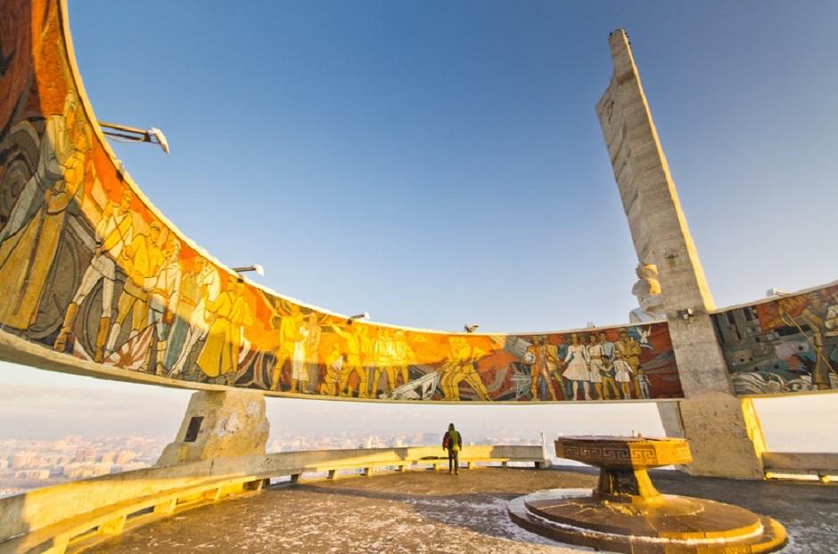 Memorial Zaizan à Ulan Bator