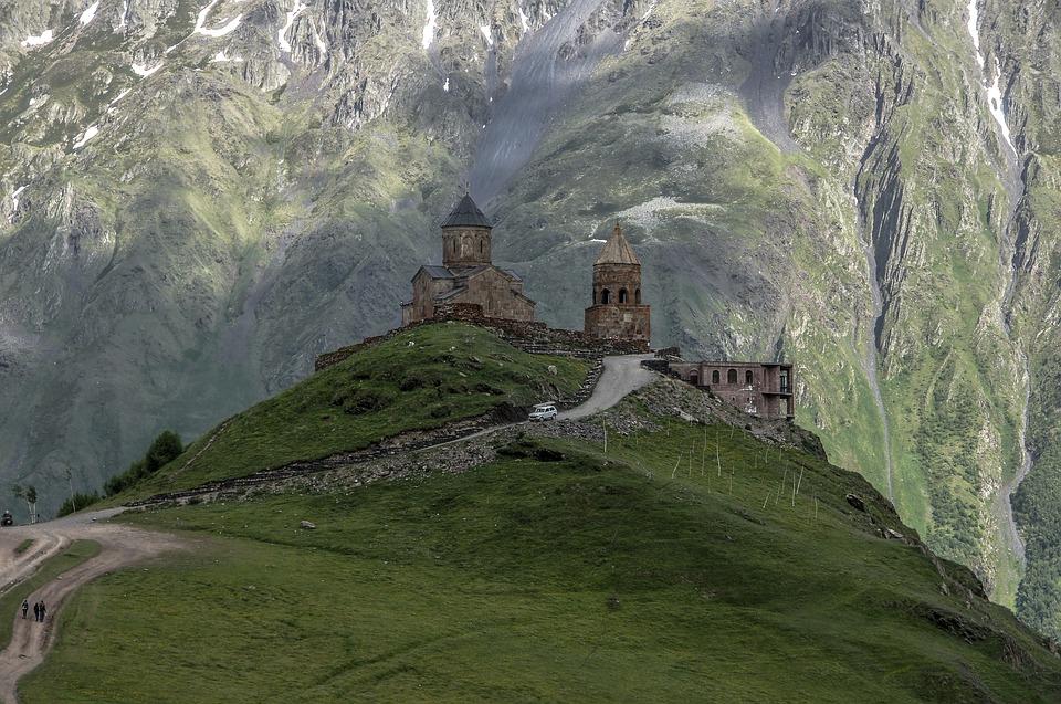 L'Église de la Trinité de Gergeti