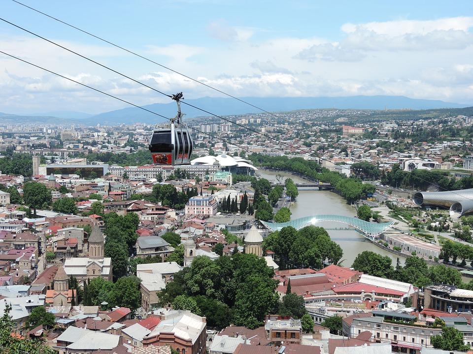 Téléphérique Narikala - Tbilissi